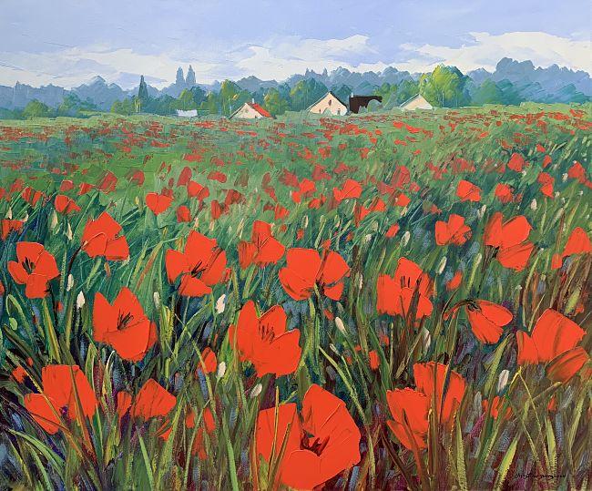 Les champs fleuris | Christian Bergeron